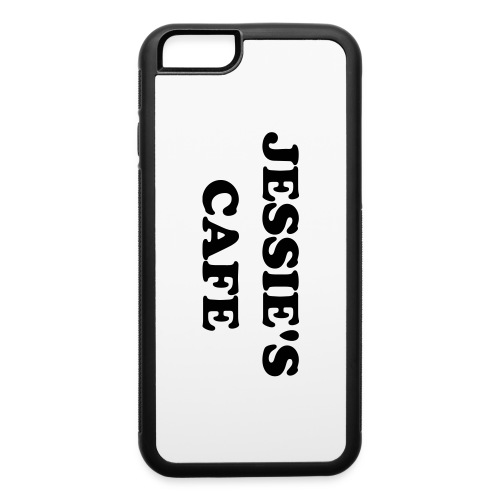 Jessie's Cafe iPhone 6/6s Rubber Case - iPhone 6/6s Rubber Case