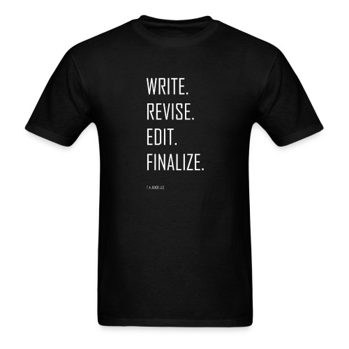 The Process (black) - Men's T-Shirt
