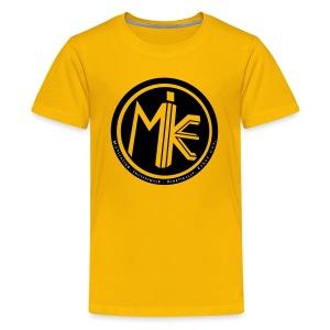 MIKE Shirt w/ 2018 Sleeve - Kids' Premium T-Shirt
