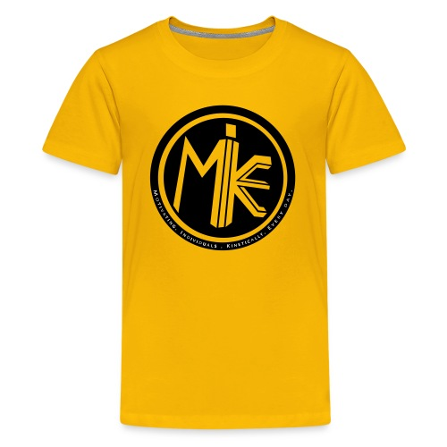 MIKE Shirt w/ 2018 Sleeve - Kids' Premium T-Shirt