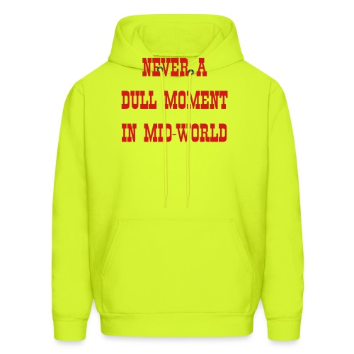 Mid-World - Men's Hoodie