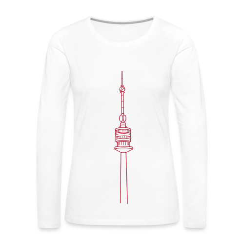 Danube Tower Vienna - Women's Premium Long Sleeve T-Shirt