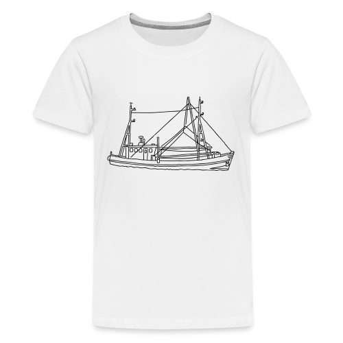 Fishing boat - Kids' Premium T-Shirt