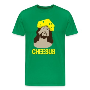 Cheesus [M] - Men's Premium T-Shirt