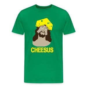 Cheesus - Men's Premium T-Shirt