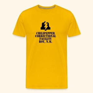 Chilipepper Correctional Facility - Red (premium) - Men's Premium T-Shirt