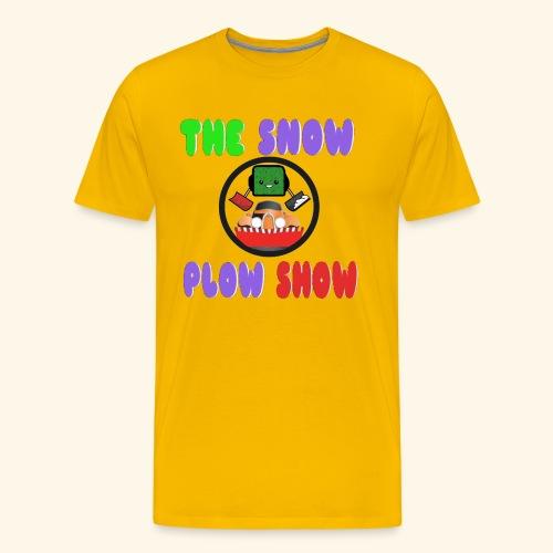 Jaahso's Snow Plow Show Design (premium) - Men's Premium T-Shirt