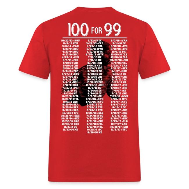 100 for #99 - Men's Tee
