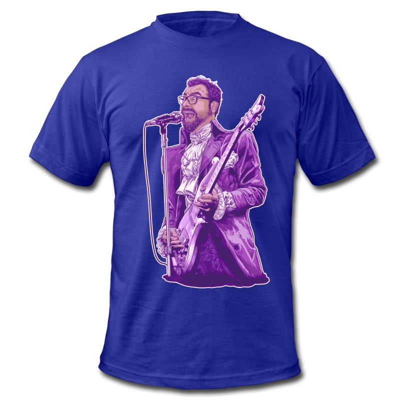 PurpleJorge - Men's T-Shirt by American Apparel