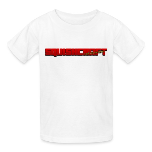 SquishCraft Logo 1 - Kids' T-Shirt