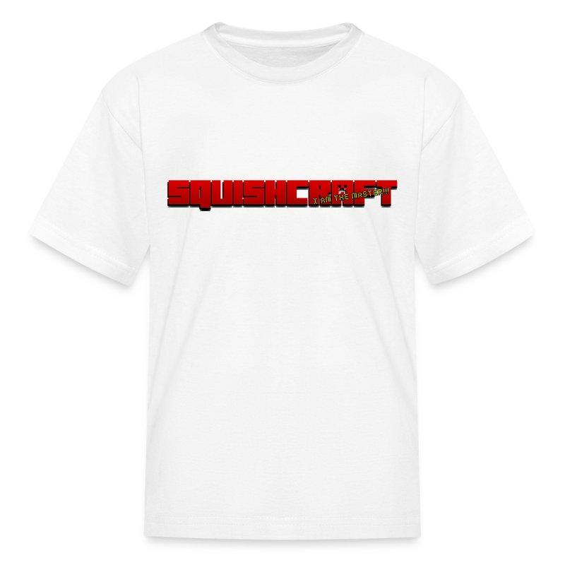 SquishCraft Logo 1 - Kids' T-Shirt