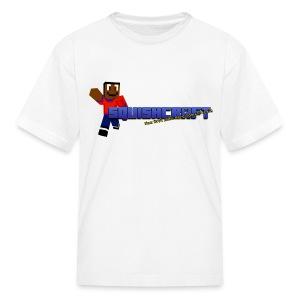 SquishCraft Premium Logo - Kids' T-Shirt