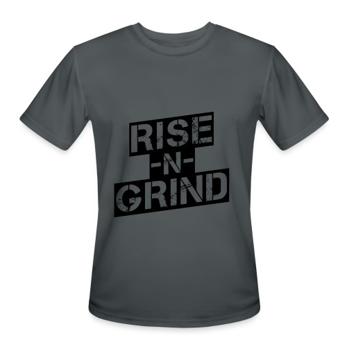 Grind Mens Performance Top - Men's Moisture Wicking Performance T-Shirt