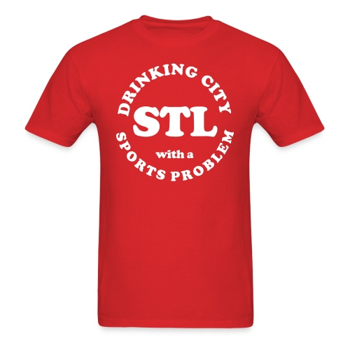 Drinking City with a Sports Problem - Men's T-Shirt