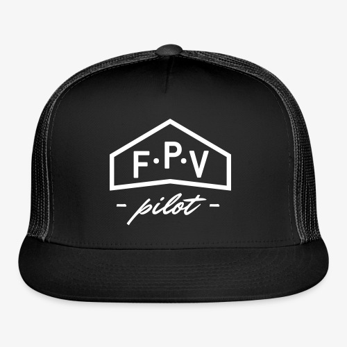 CUSTOMIZABLE FPV trucker cap - Trucker Cap