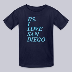 P.S. I Love San Diego - Kids' T-Shirt