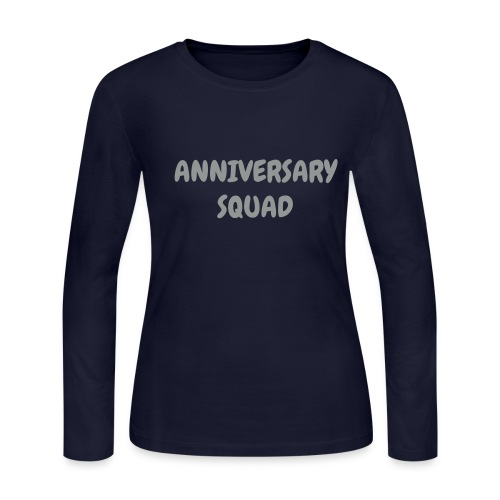 ANNIVERSARY SQUAD - Women's Long Sleeve Jersey T-Shirt