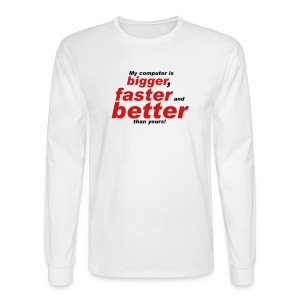 My Computer Long Sleeve - Men's Long Sleeve T-Shirt