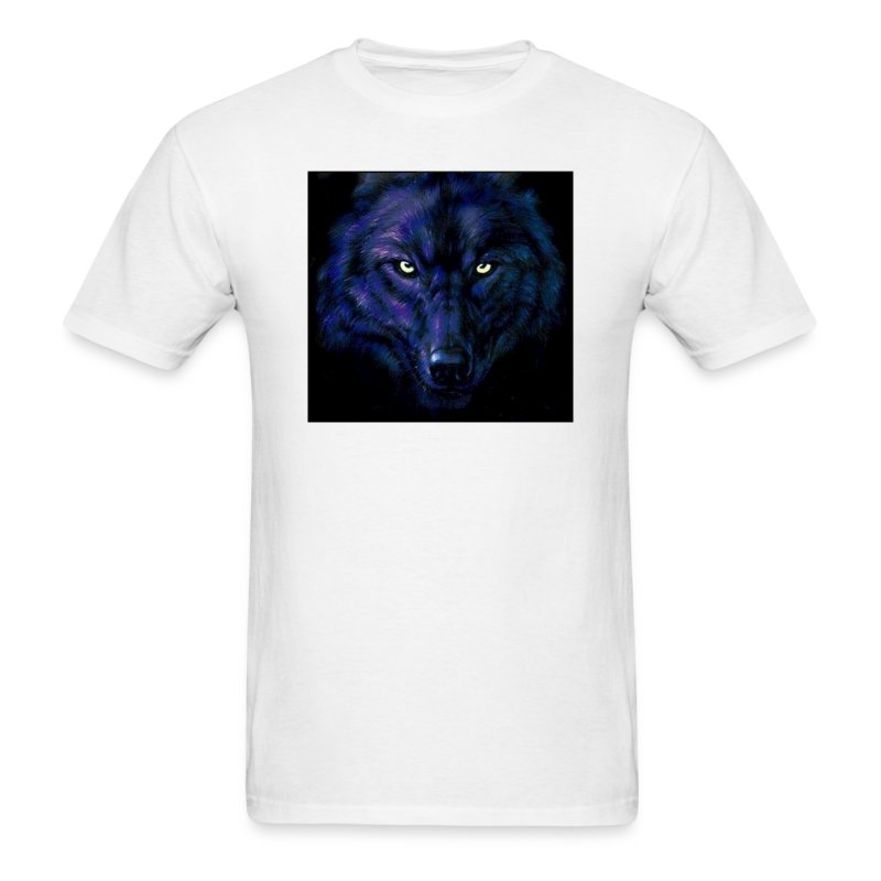 dark wolf - Men's T-Shirt
