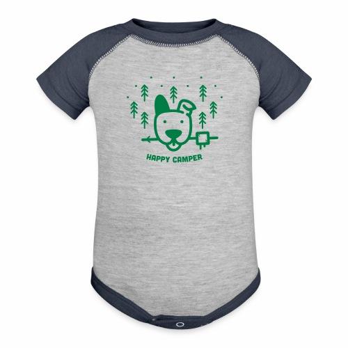 Baby Contrast One Piece - Contrast Baby Bodysuit