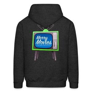Men's Merry Movies Hoodie - Men's Hoodie