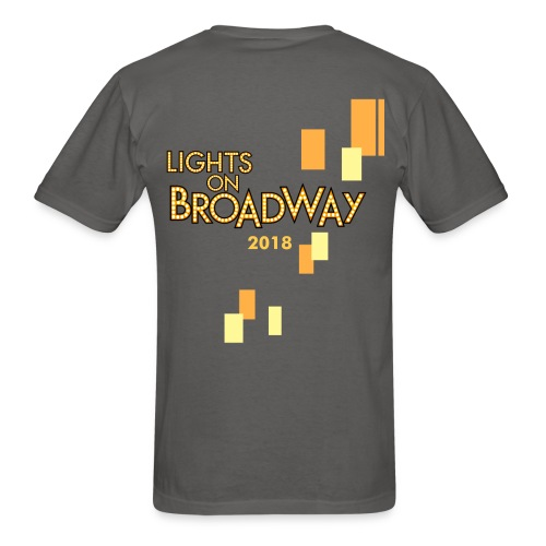 Men's Lights On Broadway T-Shirt - Men's T-Shirt