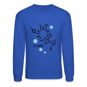 oxytocin cuddle men's sweatshirt - Crewneck Sweatshirt
