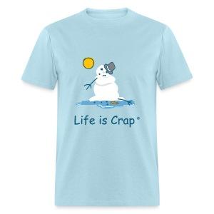 Melting Snowman - Mens Standard Tee - Men's T-Shirt