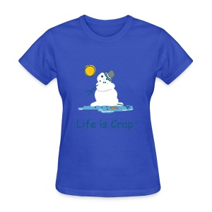 Melting Snowman - Women's T-Shirt