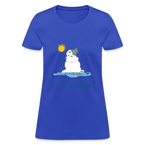 Melting Snowman - Womens Standard Tee - Women's T-Shirt