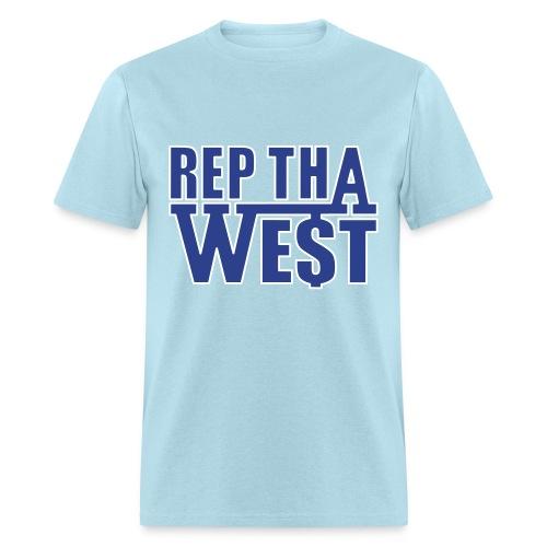 Rep Tha West T-Shirt - Men's T-Shirt
