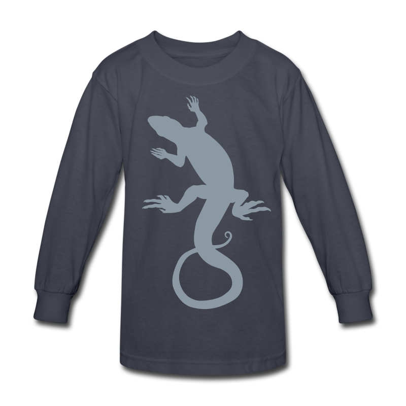 Lizard Art Kid Shirts &  Reptile Jerseys - Kids' Long Sleeve T-Shirt