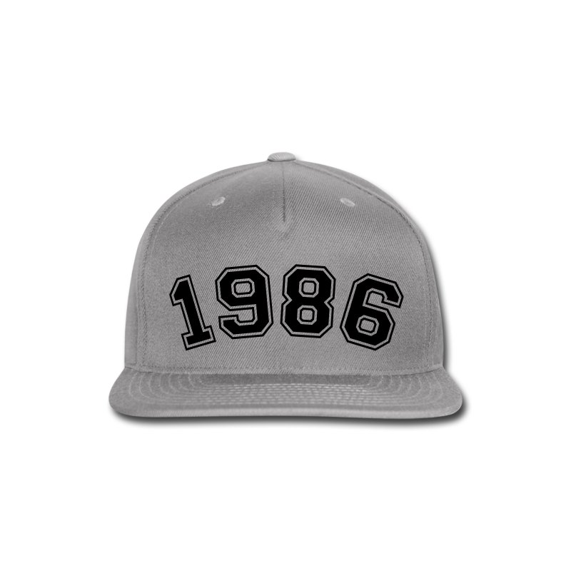 Made In 1986 - Snap-back Baseball Cap