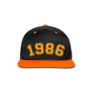Made In 1986 - Snap-back Baseball Cap