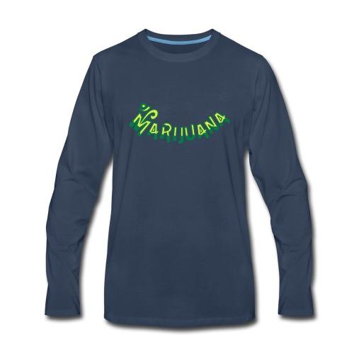 Om Marijuana - Men's Premium Long Sleeve T-Shirt