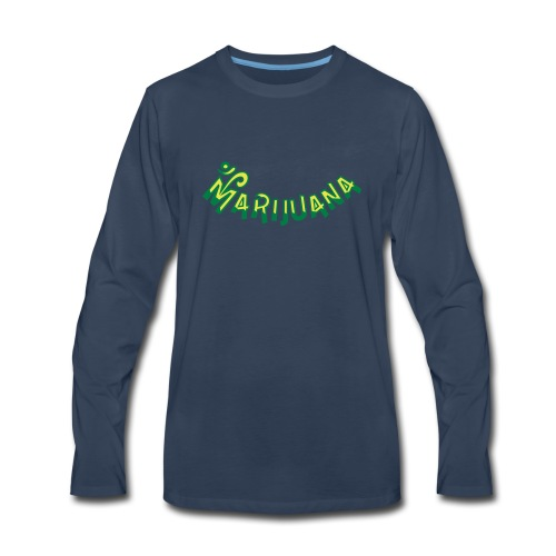 Om Marijuana - Men's Premium Long Sleeve T-Shirt