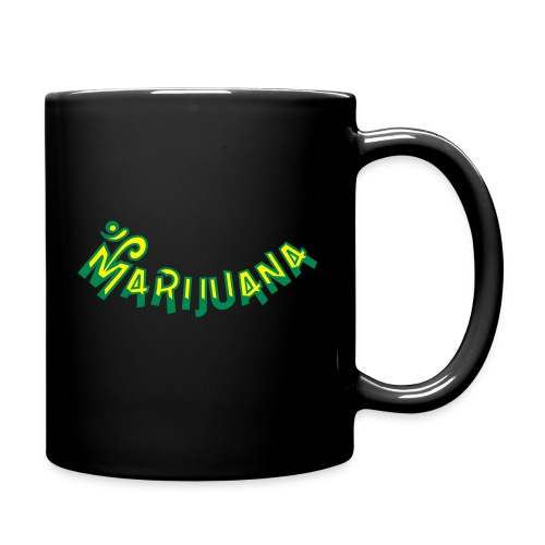 Om Marijuana - Full Color Mug