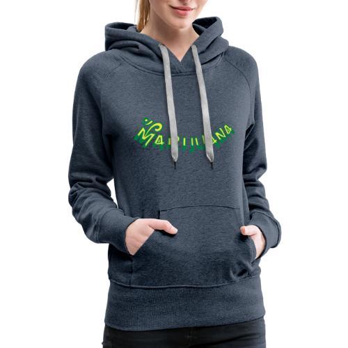 Om Marijuana - Women's Premium Hoodie