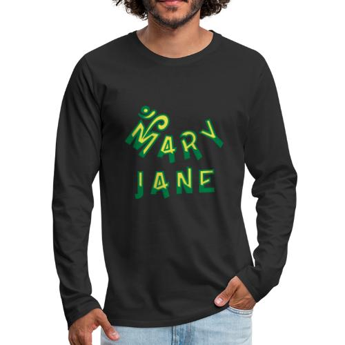 Mary Jane - Men's Premium Long Sleeve T-Shirt