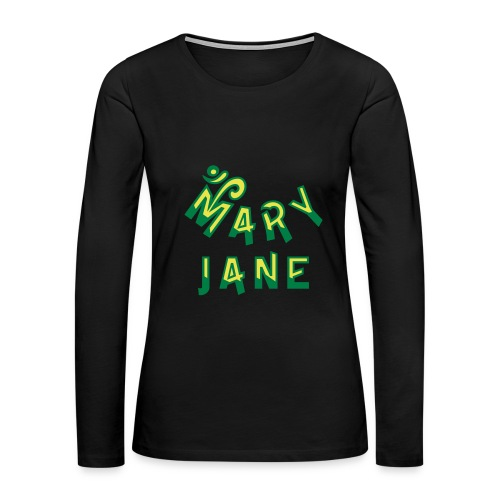 Mary Jane - Women's Premium Long Sleeve T-Shirt