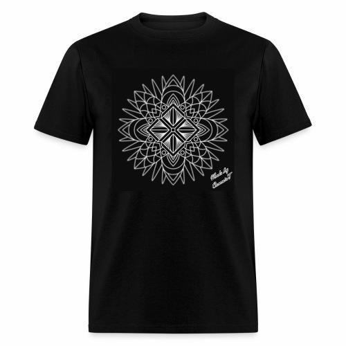 ABSTRACT SNOWFLAKE - Men's T-Shirt