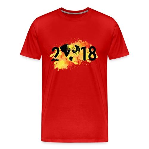 2018 year of dog Men's Premium T-Shirt - Men's Premium T-Shirt