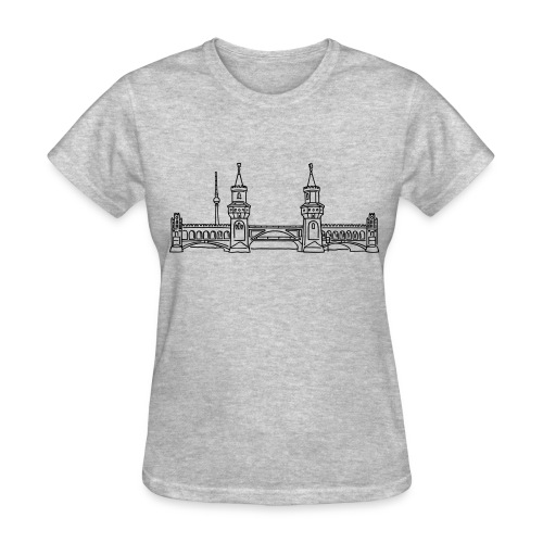 Oberbaum Bridge in Berlin - Women's T-Shirt