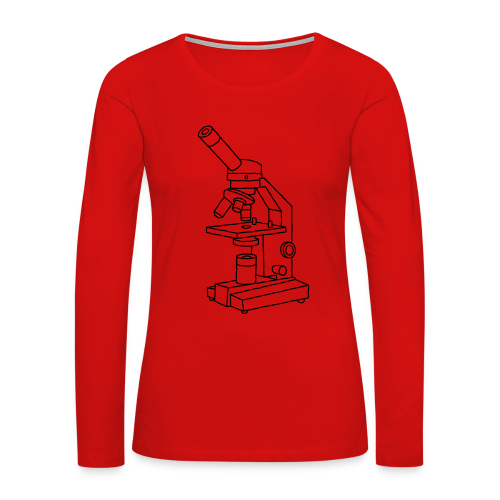 MICROSCOPE - Women's Premium Long Sleeve T-Shirt
