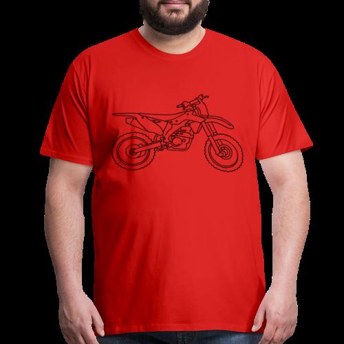 Motocross motorcycle - Men's Premium T-Shirt