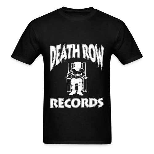 Death Row Records - Men's T-Shirt