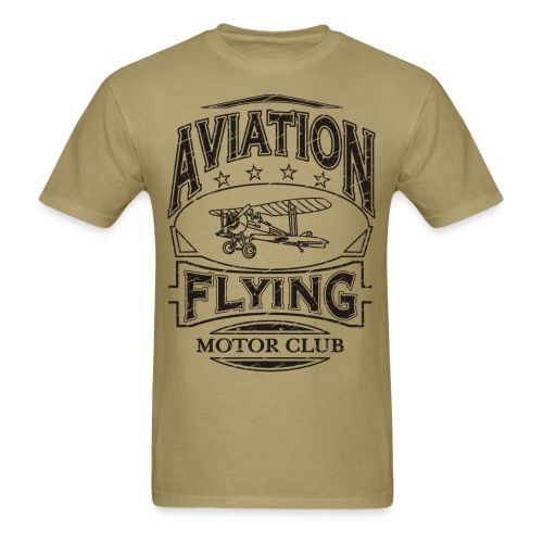 Aviation Aircraft Flying - Men's T-Shirt