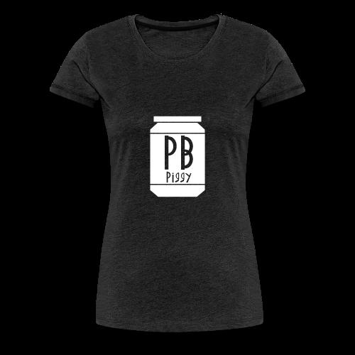 PBPiggy Premium T-Shirt (Womans) - Women's Premium T-Shirt