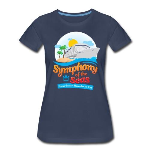 Women's Symphony of the Seas Group Cruise T-Shirt - Women's Premium T-Shirt