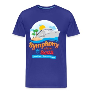 Men's Symphony of the Seas Group Cruise T-Shirt - Men's Premium T-Shirt